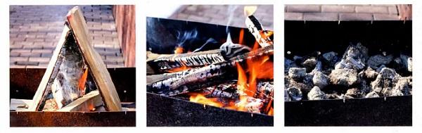 жарить мясо на углях