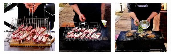 на чем можно жарить мясо на углях