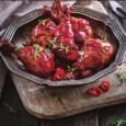 Куриные ножки в вишневом соусе