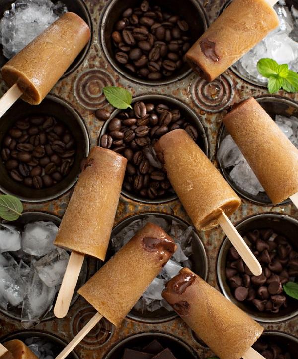 Попсикл кофе с шоколадом