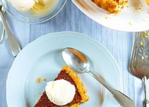 Лимонные десерты: лимонно-медовый тарт