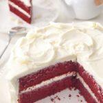 Торт красный бархат фото