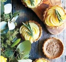 Тарталетки с заварным кремом и лимоном