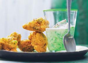 Индийская закуска из брокколи