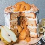 торт с сюрпризом_груша