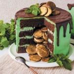 торт с сюрпризом_мята и шоколад