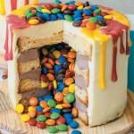 торт с сюрпризом_M&M`s