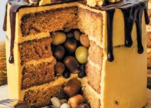 тыквенный торт с сюрпризом