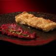 Албанская пита со свекольным хумусом