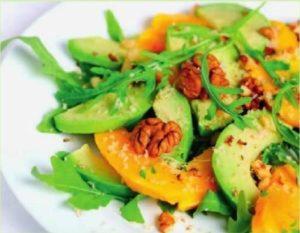 Салат из помело с авокадо