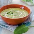 Французский суп из щавеля