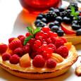 ягодные тарты с кремом шантильи