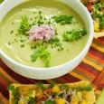 крем суп из авокадо