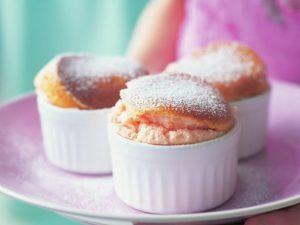 Суфле из розового грейпфрута