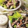 Салат из индейки с виноградом