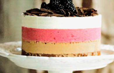 Слоеный торт-мороженое
