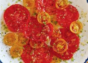 рецепты с помидорами: карпаччо