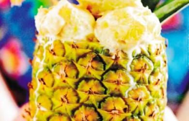 ананасовое мороженое