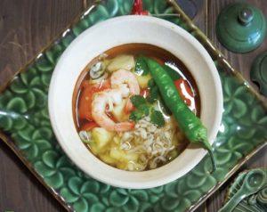 вьетнамский креветочный суп
