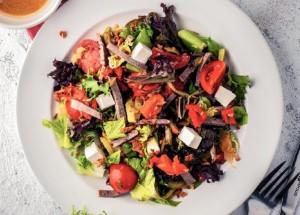 Другой салат оливье, со специями
