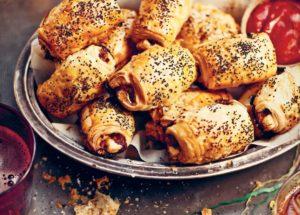 Рецепты со свининой: рулетики со свиным фаршем, яблоком и фисташками