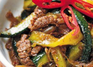 салаты с мясом: корейский рецепт