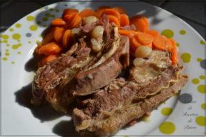 Говяжья грудинка с кармелизованной морковью