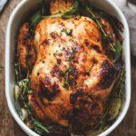 Чем начинить курицу для запекания
