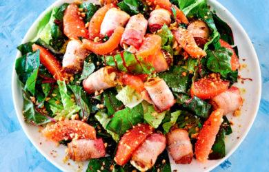 салат с финиками
