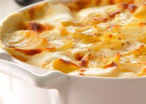 праздничный гарнир из картофеля