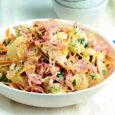 Азиатский салат со свининой и помело