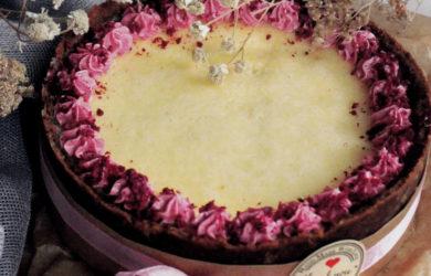 Ванильно-сливочный чизкейк на основе из пряничной крошки
