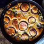 Запеканка из овощей с мягким сыром