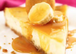 Рецепты чизкейков: банановый чизкейк