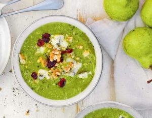 Суп-пюре с грушей и брокколи