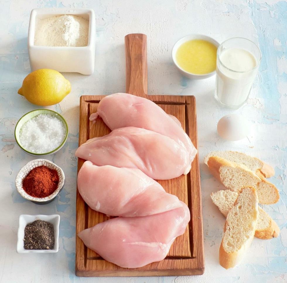 шницель куриный рецепт