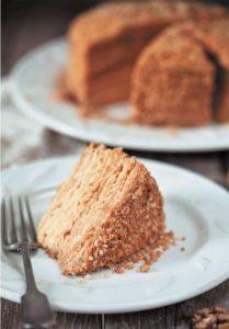торт рыжик с заварным кремом