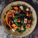 салат из тыквы с семечками