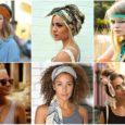 Как повязать платок на голову: изысканные варианты