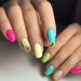Сочетание цветов гель лака для ногтей: фото