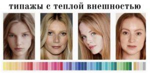 как определить цветотип внешности тест онлайн