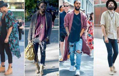 Стиль бохо в одежде для мужчин