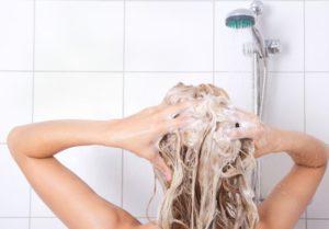 очищение головы и волос