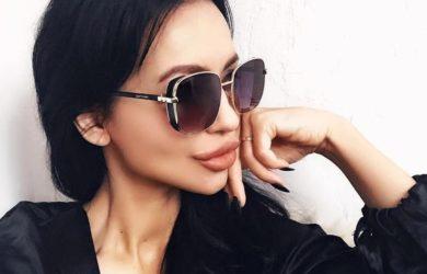 Солнцезащитные очки с боковой защитой