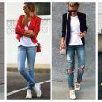 Что одеть под пиджак девушке