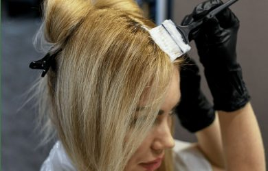 Покрасить волосы в домашних условиях профессиональной краской