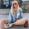 Модные джинсовки 2021 женские