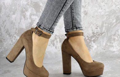 Туфли женские на каблуке 2021